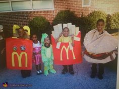 The Happy Meal DIY Costumes - 2013 Halloween Costume Contest