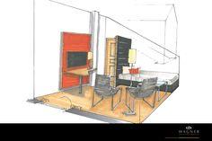 Gästezimmer Neuschwanstein Castle, Living Dining Rooms, New Construction, Interior