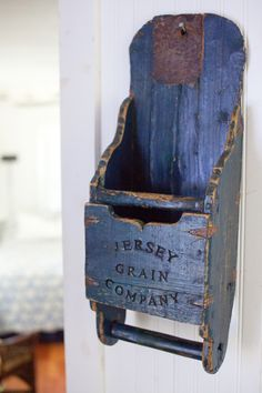 antique grain scoop