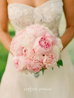 Love this #pink #bouquet of #peonies