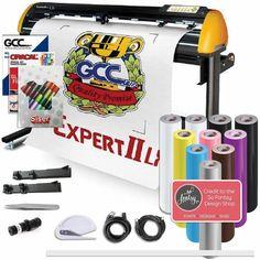 "GCC Professional Expert II 24"" Wide LX Vinyl Cutter With Stand Commercial Signs, Swing Design, Oracal Vinyl, Sign Maker, Patterned Vinyl, Transfer Tape, Vinyl Cutter, Cricut Vinyl"