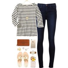 """OOTD"" by thevirginiaprep on Polyvore"