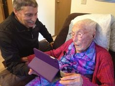 """114-year-old woman lies to Facebook about her age"" POsted October 13, 2014 #weird #Facebook"