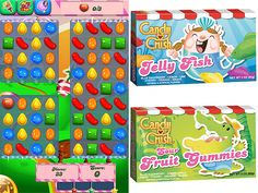 Sweet! 'Candy Crush Saga' Introduces New Game-InspiredTreats! My addiction come to life to enable a whole other addiction!