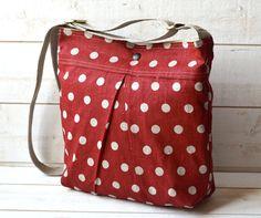 Medium Diaper bag / Shoulder Bag / Cross body bag Eco by ikabags