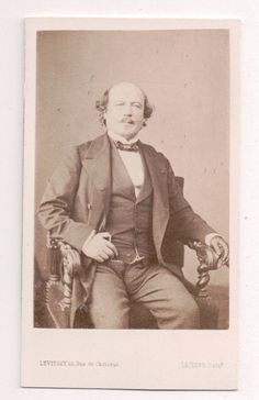 Vintage CDV François Certain Canrobert Marshal of France Photo by Levitsky | eBay