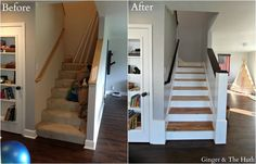 """We needed to redo our carpeted stairs."" This made a huge difference"