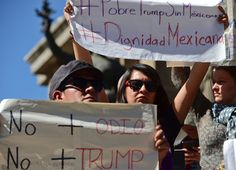 Mexicans are already tired of Trump