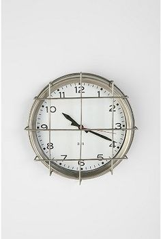 Urban Outfitters 3-P4 by Three Potato Four PE Clock