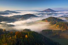 """Morning mist and Autumn Colors in... """"Autumn Morning"""" by Martin Rak, via 500px"""