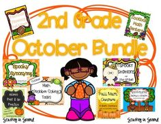 All of my most popular October products in one bundle!! This is a MUST HAVE with everything you need for October! Literacy Centers, Math Centers, Math Print and Go practice sheets, Math Problem Solving, and more!8 products included. If each item purchased separately, they'd be $36 total.