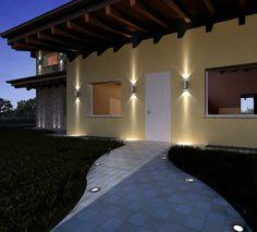 1000 images about illuminazione led per esterni on for Illuminazione led casa esterno
