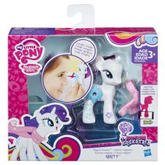 MLP Magical Scenes Rarity Brushable Figure