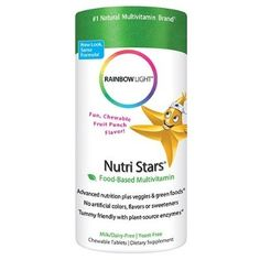 Rainbow Light Nutri Stars Multivitamin & Multimineral Chewables Children's Tablets 120 tablets - For Sale Check more at http://shipperscentral.com/wp/product/rainbow-light-nutri-stars-multivitamin-multimineral-chewables-childrens-tablets-120-tablets-for-sale/