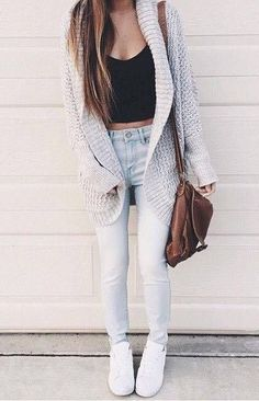 classic street style outfit