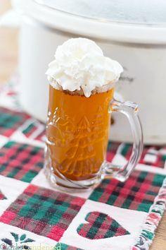 Crock-pot Starbucks Caramel Apple Cider