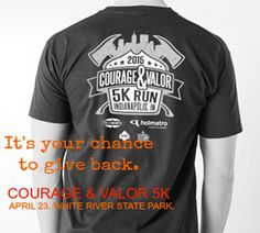 Courage & Valor 5K. Run to help sponsor the Ray Downey Courage and Valor Medal and Award presented each year at FDIC. All are welcome to participate. Registration is $20.00 at the convention center Monday and Tuesday of FDIC (in Hoosier Hallway) or online at www.tuxbro.com and $25 on site at the race. All preregistered participants will receive T-shirts.