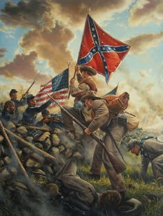Pickett's Charge Gettysburg July 3rd 1863