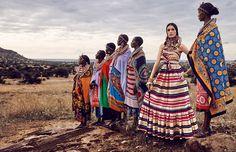 African Vibration Vogue Japan