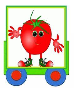 Vegetable Crafts, Vegetable Cartoon, Activities For Kids, Crafts For Kids, Best Fruits, Kitchen Art, Preschool, Animation, Vegetables