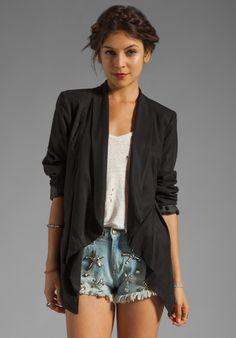 WISH Proxy Blazer in Black at Revolve Clothing - Free Shipping!