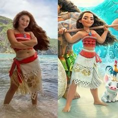 Follow us @dailyart @dailyart !! Moana Cosplay!! She did all!! Remember to Follow us @dailyart for more! Artwork by @gladzykei she did all! Complete video at the link in her bio! Tag your friends bellow!#Dailyart