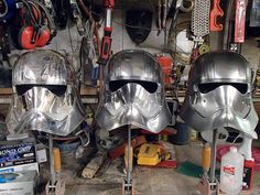 When My Brain Leaks, the Drops Drip Here.: Building Captain Phasma Part 1: the Helmet