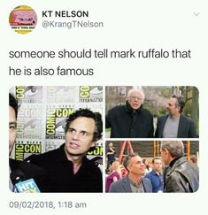 28 Of Todays Freshest Pics And Memes - Funny Superhero - Funny Superhero funny meme - - New goal: to meet Mark Ruffalo and react to him the same way he reacts to other celebrities The post 28 Of Todays Freshest Pics And Memes appeared first on Gag Dad. Funny Marvel Memes, Marvel Jokes, Avengers Memes, Marvel Avengers, Marvel Comics, Avengers Cast, Mark Ruffalo, Memes Estúpidos, Funny Memes