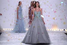 Monique Lhuillier's Spring/Summer 2015 collection was everything we hoped for and more. They're the dresses of your dreams, pretty much out of a fairy tale.