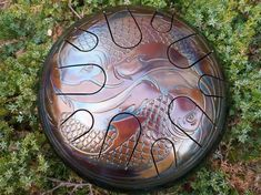 Yin Yang Fish, Hand Drum, Steel Drum, Eye For Detail, Fish Tank, How To Relieve Stress, Drums, Meditation, Rest