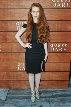 Actress Madelaine Petsch attends GUESS Celebration Launch of Dare + Double Dare Fragrance at Ysabel on July 2016 in West Hollywood, California. Camila Mendes Riverdale, Cheryl Blossom Riverdale, Long Red Hair, Madelaine Petsch, Gorgeous Redhead, Strawberry Blonde, Celebs, Celebrities, Redheads