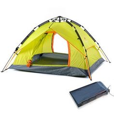 NH15Z004-P NatureHike Large Camping Tent Automatic Trekking Outdoor Sleeping Lightweight Hiking Tents Camping Family -- A special product just for you. See it now! : Hiking tents