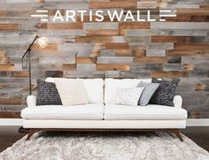 wall planks - The accent wall has permeated the home decor world for quite some time, and 'Artis Wall' wall planks look to make the process even easi...