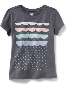 b6e4dbf7284 Crew-Neck Graphic Tee Product Image Old Navy