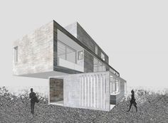 Casa Maruma - Fernanda Canales /  Ilustración - Aarón Jassiel