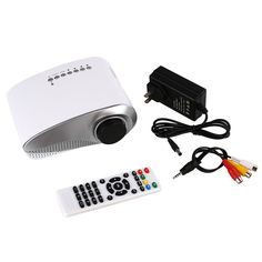 >> Click to Buy << LED Projector USB VGA Multimedia Player Projectors Home Portable Mini Projectors For Theater Cinema White #Affiliate