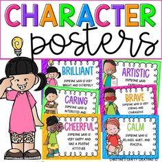 24 Character Trait Posters included:-Adventurous-Artistic-Athletic-Brave-Brilliant-Calm-Caring-Cheerful-Determined-Enthusiastic-Friendly-Funny-Glamorous-Gentle-Giving-Helpful-Honest-Kind-Loving-Lucky-Respectful-Responsible-Strong-SweetYou may also be interested in these:Character Trait PostersGenre ...