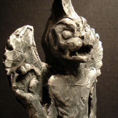 Pazuzu is the Assyrian king of the demons of the wind. Though an evil spirit himself, he wards off many other evil spirits so was thought to be beneficial to mankind Ancient Aliens, Ancient Art, Ancient History, Epic Of Gilgamesh, Celtic Mythology, Demonology, Sumerian, Historical Artifacts, Evil Spirits