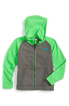 The North Face 'Glacier' Full Zip Hoodie (Toddler Boys & Little Boys) available at #Nordstrom