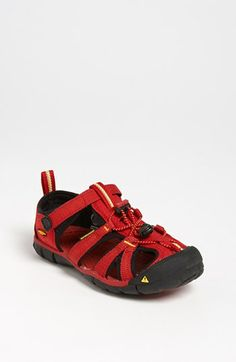 Keen 'Seacamp' Sandal (Toddler, Little Kid & Big Kid) available at #Nordstrom in grey