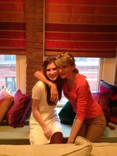 Taylor spending Valentine's Day with a fan!
