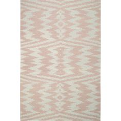 for mila! / Capel Rugs Junction Pink Wool Rug @zinc_door