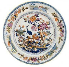 Colorful chinaware