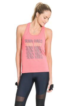 Glow Train Hard Racerback Tank – LIVE!