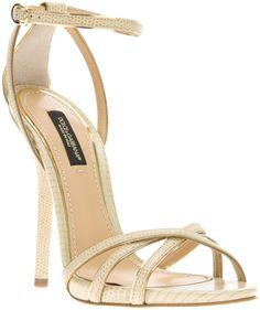 Dolce & Gabbana Strappy Sandals, $706