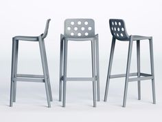 Technopolymer counter stool ISIDORO by GABER design Favaretto