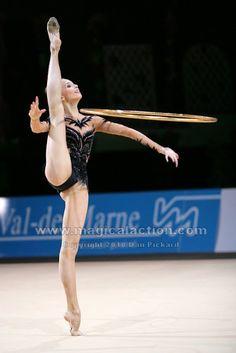 Viktoria Shinkarenko, Ukraine; Grand Prix, Thiais 2010 #rhythmic_gymnastics