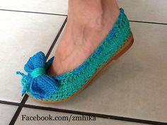 pinterest sapatos tejidos a crochet en plantilla goma - Buscar con Google