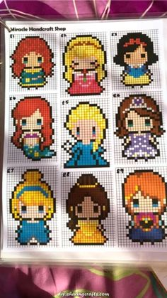 Fourth of July cross stitch disney princesses, punto . - Fourth of July cross stitch disney princesses, cross stitch baby sheets, - Perler Bead Templates, Diy Perler Beads, Pearler Bead Patterns, Perler Bead Art, Perler Patterns, Quilt Patterns, Hama Beads Disney, Stitch Disney, Lilo Und Stitch