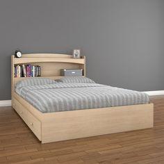 Nexera Alegria Storage Bed and Headboard